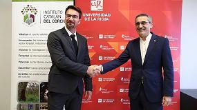 Foto de El ICSuro y la Universidad de La Rioja suscriben un convenio de colaboración para el estudio de la interacción entre vino y corcho