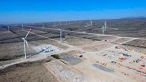 Foto de GES finaliza un parque eólico de 200 mw para EDPR en México
