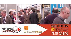Picture of Innovalia Metrology y Metrology Direct sellan su alianza en Southern Manufacturing