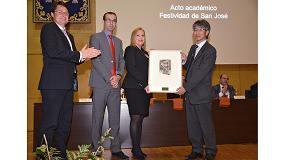 Foto de La UPCT otorga a Himoinsa el premio 'Mateo Vodopich' por su colaboración en la formación de ingenieros industriales