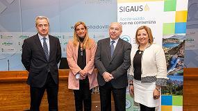 Foto de Sigaus firma un convenio con el Ayuntamiento de Collado Villalba para plantar el 'Sexto Bosque Sigaus'