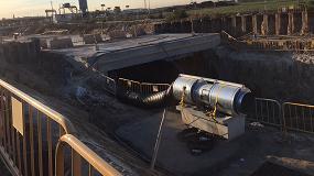 Foto de TST Servicios mostrará en Smopyc diferentes métodos de trabajo para la ventilación de túneles