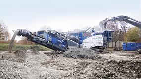 Foto de El molino de impactos Kleemann MR110ZS EVO 2, protagonista en el stand de Emsa en Smopyc 2017