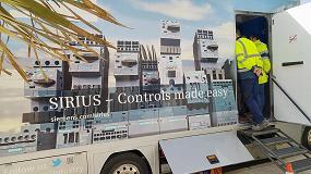 Foto de El camión de Control Industrial Sirius de Siemens enseña sus novedades a los principales clientes del sector industrial