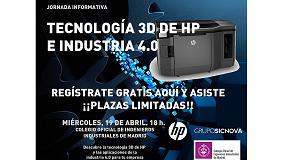 Foto de Grupo Sicnova y HP organizan la jornada 'Tecnología 3D de HP e Industria 4.0'