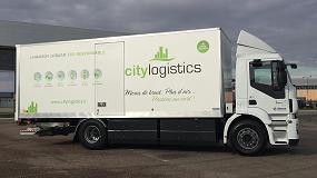 Foto de City Logistics reinventa la distribución urbana con una flota de camiones de gas natural equipados con cajas de cambios Allison