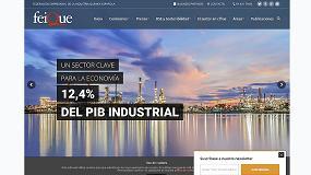 Foto de Feique renueva el diseño de su web corporativa para fomentar el conocimiento del sector químico español