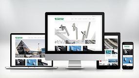 Foto de Giesse ya tiene en línea su nueva web corporativa en español
