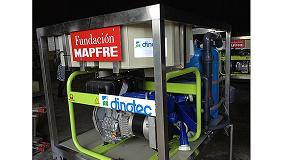 Fotografia de Las primeras potabilizadoras con destino a Perú salen de Dinotec