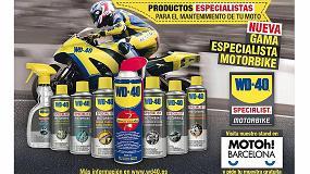 Foto de WD-40, presente en Motoh! 2017, el salón de la moto de Barcelona