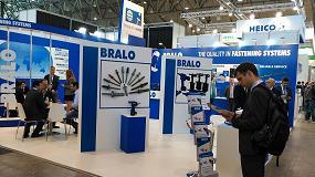 Picture of Bralo participa en Fastener Fair Stuttgart 2017