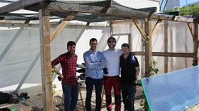 Foto de La Fundación Txema Elorza construye un invernadero para Down Madrid