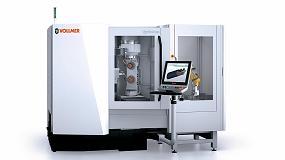 Foto de La nueva serie VGrind 360 de Vollmer permite mecanizar herramientas de metal duro