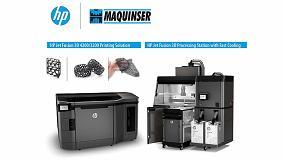 Foto de Acuerdo de colaboración entre Hewlett-Packard y Maquinser