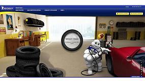 Foto de Michelin lanza la versión en español de su web de neumáticos para vehículos históricos