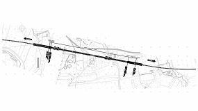 Foto de Revestimiento de impermeabilización de los túneles ferroviarios de Sighisoara a Atel (Rumanía)