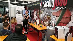 Foto de Las impresoras 3D de sobremesa de EntresD presentes en el Salón del Cómic de Barcelona