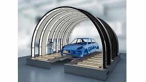 Picture of Dürr presenta un túnel de luz para comprobar con precisión la calidad de las superficies pintadas