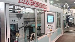 Foto de Amut presenta una nueva máquina de termoconformado