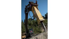 Foto de Atlas Copco presenta su nuevo martillo hidráulico MB 1650