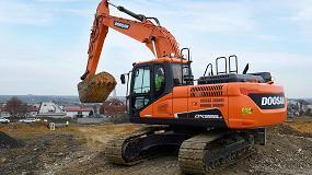 Foto de Doosan presenta su nueva excavadora DX225LC-5 de alto rendimiento