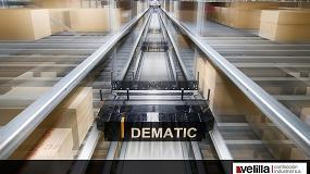 Foto de Velilla Confección amplía su almacén con la tecnología de Dematic