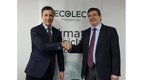 Foto de Ecolec y Acema renuevan convenio de colaboración para incrementar la recogida de los RAEE