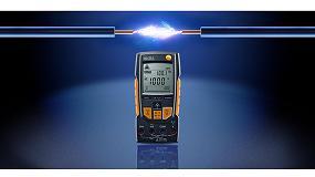 Foto de Testo presenta el multímetro 760-2 True RMS para medición de μA y comprobación de la corriente de ionización