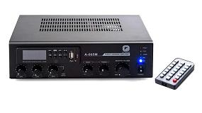 Foto de Optimus presenta su amplificador compacto A-065M
