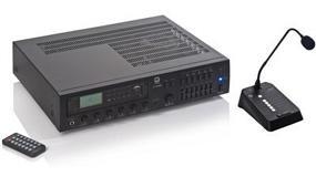 Picture of Optimus presenta su amplificador A-240MZ para sistemas de megafonía básica