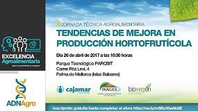 Foto de Inagea, Cajamar y Biovegen organizan la Jornada 'Tendencias de mejora en producción hortofrutícola'