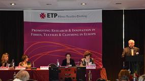 Foto de La AEI Tèxtils participó en la Conferencia Anual de la Plataforma Tecnológica Textil Europea