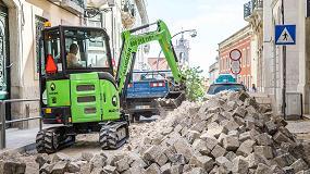 Foto de Moviter suministra 24 excavadoras compactas a la empresa portuguesa de alquiler Machrent