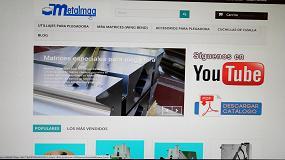 Foto de Metalmaq abre su web de compra online