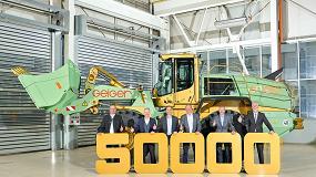 Foto de Liebherr-Werk Bischofshofen GmbH entrega la pala cargadora número 50.000