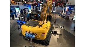Foto de Kobelco integra en sus excavadoras el sistema de control de máquinas de nueva generación de Trimble