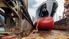 Foto de Las plataformas Haulotte también demuestran sus virtudes en trabajos portuarios