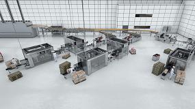 Picture of Soluciones flexibles de envasado para una manipulación cuidadosa de productos frágiles ubicados en pilas y filas dentro de los paquetes