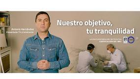 Fotografia de Antonio Hernández, presentador de Constructor a la Fuga, protagoniza la nueva campaña de Murprotec