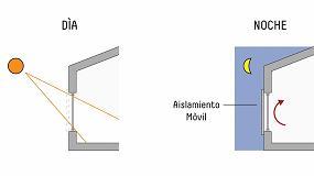 Foto de Aislamiento Térmico Móvil: filtros para la reducción de pérdidas de calor a través de las aberturas en la envolvente en climas fríos