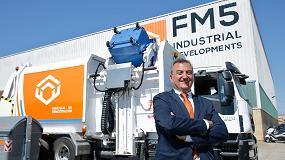 Picture of Ferruz desarrolla un nuevo camión recolector de basuras y duplicará la plantilla de su empresa FM5 en dos años