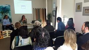 Picture of Lyssolen destaca ante los Decoradores de Zaragoza las ventajas que reporta utilizar madera en rehabilitación y construcción