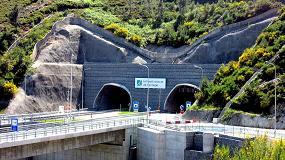 Foto de Optimus suministra la megafonía y la alarma por voz del Túnel do Marão (Portugal)