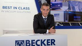 Fotografia de Entrevista a Mario Peralta, director general de Becker Ibérica