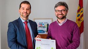 """Picture of Ayuntamiento y empresarios del municipio de Alcalá del Júcar se suman a la energía """"verde"""""""
