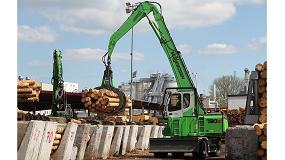 Foto de Sennebogen estará presente en Ligna con soluciones integrales para la logística maderera