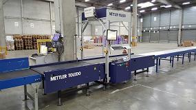 Foto de Mettler Toledo presenta un nuevo sistema básico de clasificación de paquetes