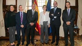 Fotografia de Veterindustria repasa con la ministra de Agricultura el sector español de sanidad y nutrición animal