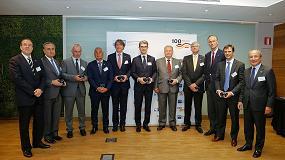 Foto de La Cámara de Comercio Alemana para España distingue a Linde Material Handling Ibérica por su pertenencia a esta organización durante 50 años
