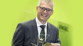 Foto de Engel Austria, homenajeado por su lealtad a Alta Austria